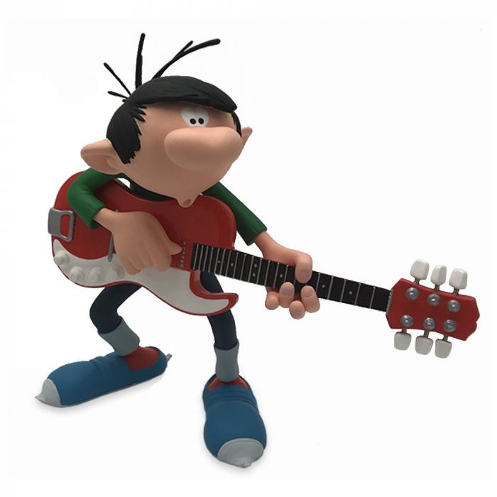 Figura de colección Attakus Tomás el Gafe Rock'n'Roll con su guitarra (2019)