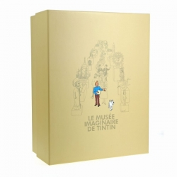 Collectible Resin Figure Tintin and Snowy Moulinsart 25cm 46007 (2016)