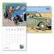 Calendario de pared 2020 Tintín y los coches 30x30cm