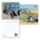 Calendrier mural 2020 Tintin et les voitures 30x30cm