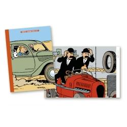 2020 Office diary agenda Tintin and cars 15x21cm (24436)