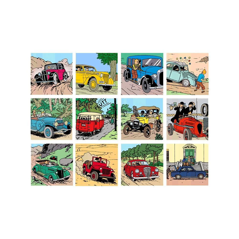 Calendrier Agenda 2020.2020 Office Diary Agenda Tintin And Cars 15x21cm 24436 Bd Addik