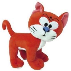 Peluche doudou Puppy Los Pitufos: El Gato Azraël de pie 30cm (755343)