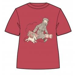 T-shirt Tintin and Snowy Le Petit Vingtième ils arrivent !! Red (2017)