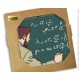 Placa mármol colección Blake y Mortimer La extraña cita (20x20cm)