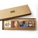 Placas de Mármol colección Blake y Mortimer La onda Septimus (5x5cm)