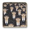 Placa mármol colección Blake y Mortimer La onda Septimus (20x20cm)