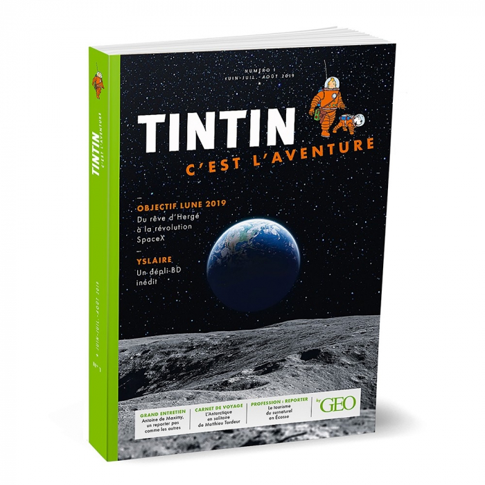 Moulinsart GEO Edition: Tintín, c'est l'aventure Nº1 FR (2019)
