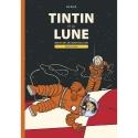 Double Album Casterman Tintin Objectif Lune and On a marché sur la Lune (FR)
