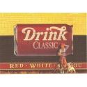Ex-libris Offset Homenaje a Tintín, Red, White & You (16,7x23,5cm)