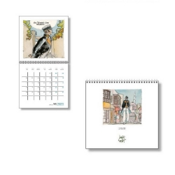 2020 Wall Calendar Corto Maltese 30x30cm (24438)