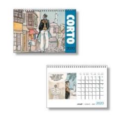 2020 Desktop Calendar Corto Maltese 15x21cm (24441)