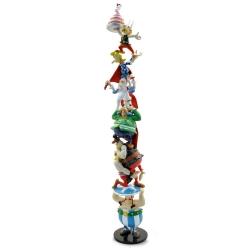 Figura de colección Pixi columna de Astérix y Obélix 60 años 30cm 2336 (2019)