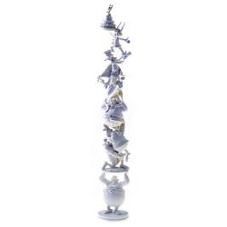 Figurine de collection Pixi colonne d'Astérix et Obélix 60 ans 30cm 2337 (2019)