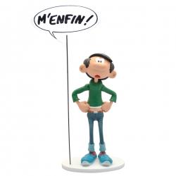 Figura de colección Plastoy Tomás el Gafe con su cartel M'enfin ! (00318)