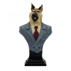 Collection Bust Attakus Blacksad Smirnov The German Shepherd B404 (2007)