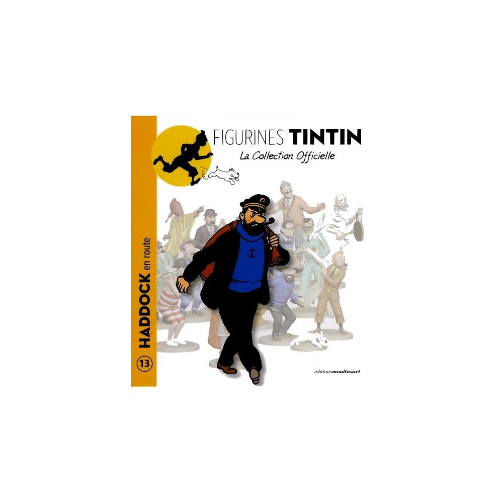 Librito Nº13 Figura de colección Tintín Haddock con su saco 13cm 2012