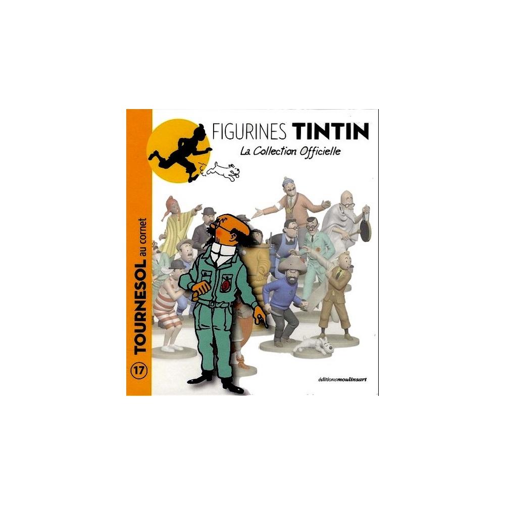 Collectible figurine Tintin, Calculus ear trumpet 12cm +