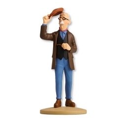Collectible figurine Tintin, marble supplier Boullu 14cm + Booklet Nº35 (2013)