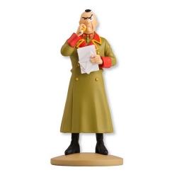 Figura de colección Tintín, El Colonel Sponsz 13cm + Librito Nº37 (2013)