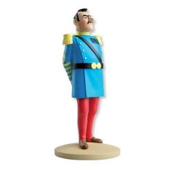 Collectible figurine Tintin, General Alcazar uniform 13cm + Booklet Nº42 (2013)