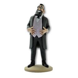 Collectible figurine Tintin, Professor Bergamotte 14cm + Booklet Nº43 (2013)