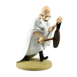 Collectible figurine Tintin, Professor Phillippulus 10cm + Booklet Nº46 (2013)