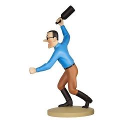 Collectible figurine Tintin, Bobby Smiles 14cm + Booklet Nº47 (2013)
