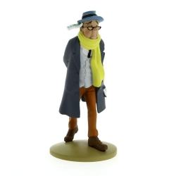Collectible figurine Tintin, Laszlo Carreidas 13cm + Booklet Nº58 (2014)