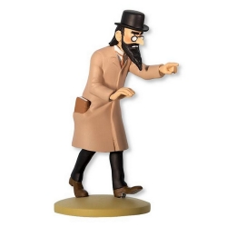 Collectible figurine Tintin, Sakharine 12cm + Booklet Nº60 (2014)