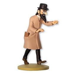 Figurine de collection Tintin, Sakharine 12cm + Livret Nº60 (2014)