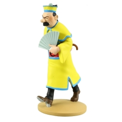 Collectible figurine Tintin, Thompson Chinese 12cm + Booklet Nº68 (2014)