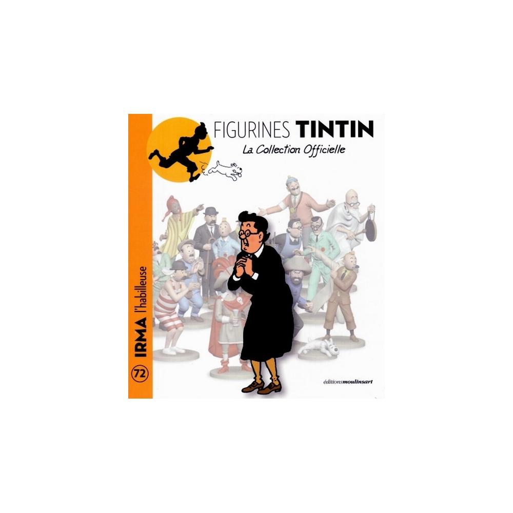 Figura de colección Tintín 2014 Irma 13cm Librito Nº72