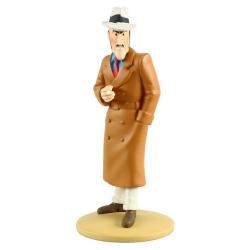 Collectible figurine Tintin, Ramon Bada spinning 14cm + Booklet Nº73 (2014)