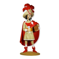 Collectible figurine Tintin, Red Rackham 16cm + Booklet Nº74 (2014)