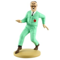 Collectible figurine Tintin, Frank Wolff 12cm + Booklet Nº75 (2014)