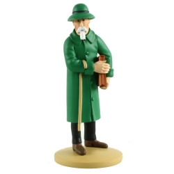 Collectible figurine Tintin, Basil Bazaroff 13cm + Booklet Nº76 (2014)