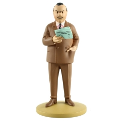 Collectible figurine Tintin, Al Capone 13cm + Booklet Nº78 (2014)