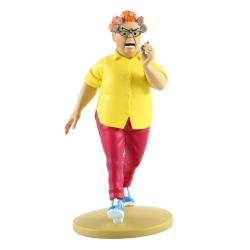 Collectible figurine Tintin, Peggy Alcazar 13cm + Booklet Nº79 (2014)