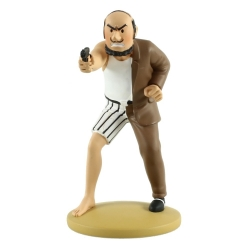 Figurine de collection Tintin, Alonzo Perez le cerveau 11cm + Livret Nº80 (2014)