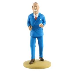 Collectible figurine Tintin, G. Loiseau 13cm + Booklet Nº84 (2015)