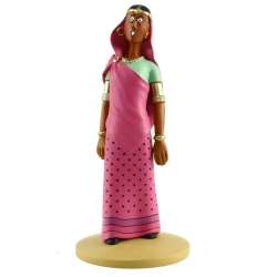 Figurine de collection Tintin, Yamilah en transe 13cm + Livret Nº85 (2015)