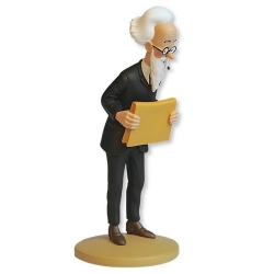 Figurine de collection Tintin, Nestor Halambique 14cm + Livret Nº87 (2015)