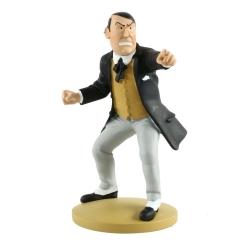 Figurine de collection Tintin, Maxime Loiseau meneur 12cm + Livret Nº88 (2015)