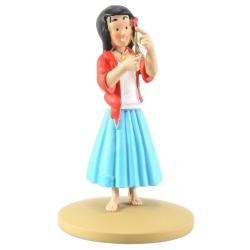 Collectible figurine Tintin, Miarka Bohemian 10cm + Booklet Nº91 (2015)