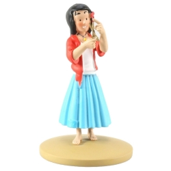 Figurine de collection Tintin, Miarka la Bohémienne 10cm + Livret Nº91 (2015)