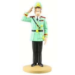 Collectible figurine Tintin, The Colonel Alvarez 14cm + Booklet Nº92 (2015)