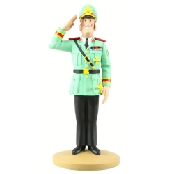 Figurine de collection Tintin, Le Colonel Alvarez 14cm + Livret Nº92 (2015)