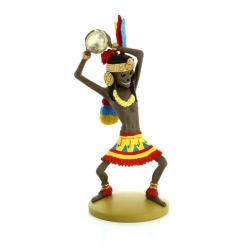 Figura de colección Tintín, Rascar Capac 14cm + Librito Nº93 (2015)