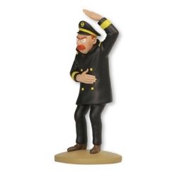 Figura de colección Tintín, El Capitán Chester 14cm + Librito Nº94 (2015)
